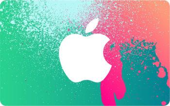 acheter des cartes cadeau apple