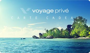 Cartes cadeaux Voyages Privé